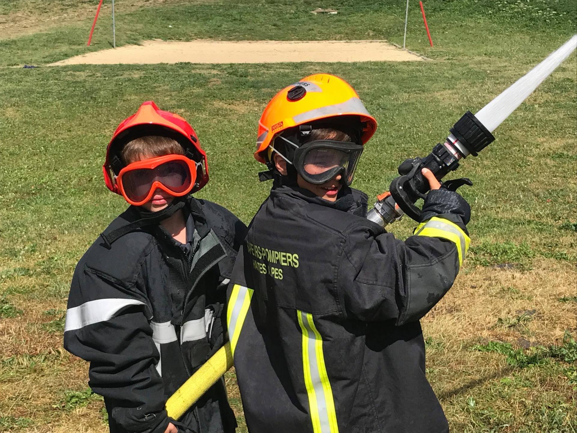 St leger graine de pompiers